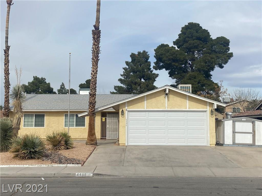 4498 Sun Vista Drive Property Photo - Las Vegas, NV real estate listing