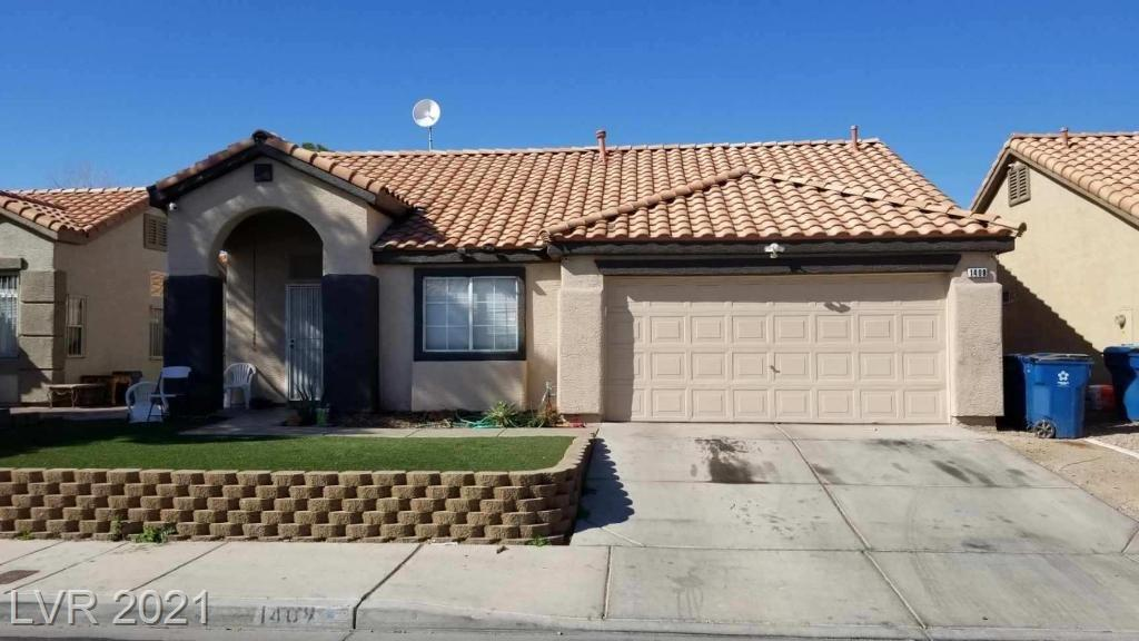 1409 Helen Belle Drive Property Photo - Las Vegas, NV real estate listing