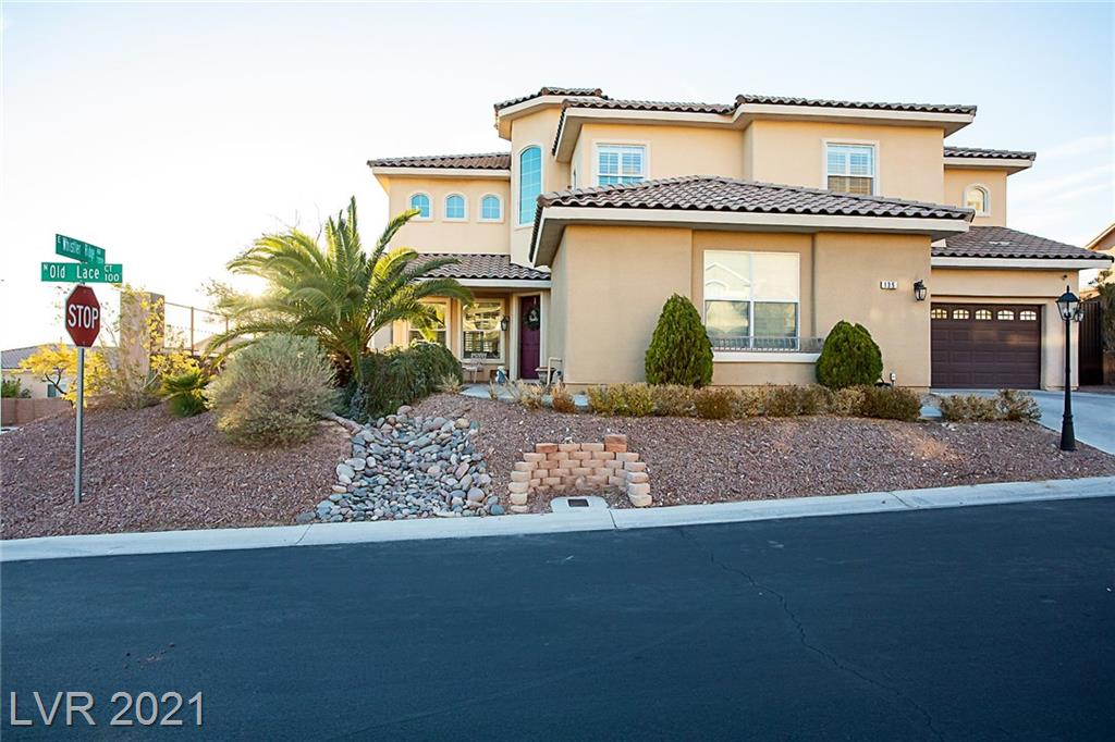 135 Old Lace Court Property Photo - Las Vegas, NV real estate listing
