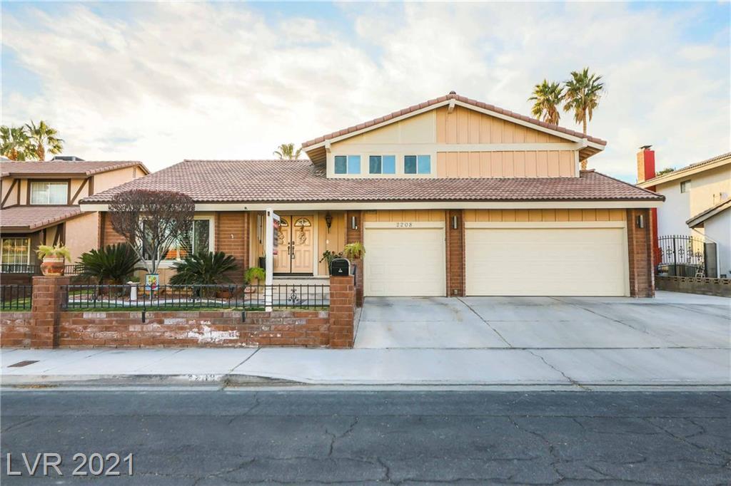 2208 Verdinal Drive Property Photo - Las Vegas, NV real estate listing