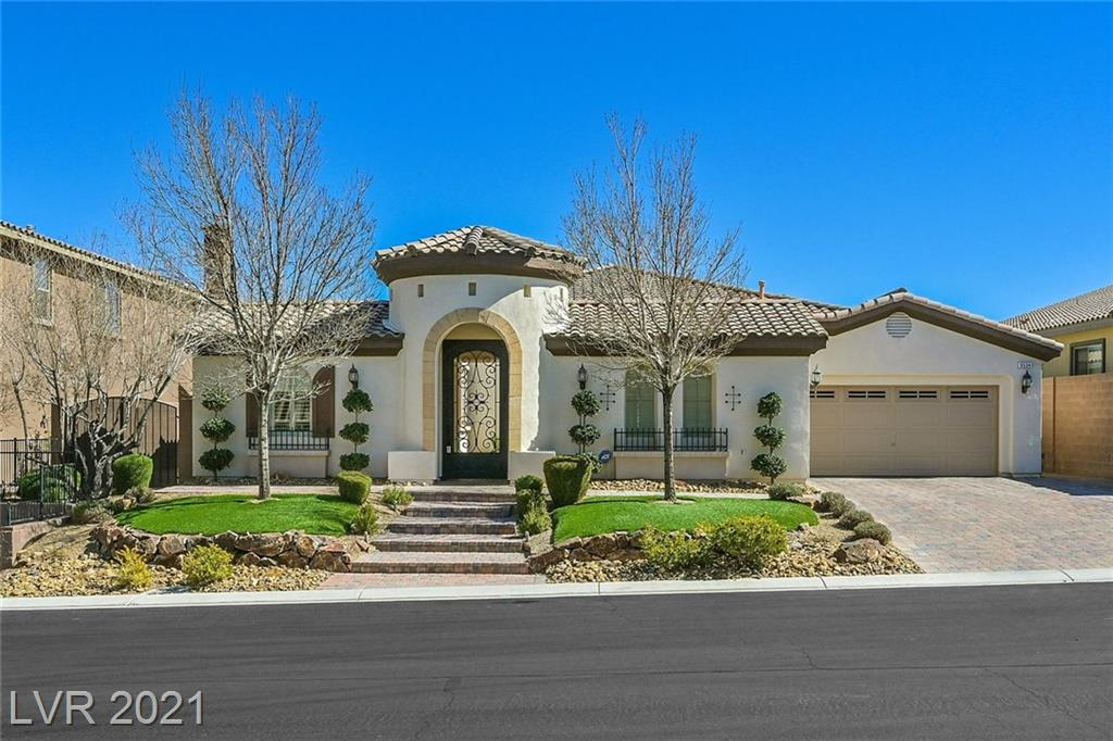 9534 Bella Citta Street Property Photo - Las Vegas, NV real estate listing