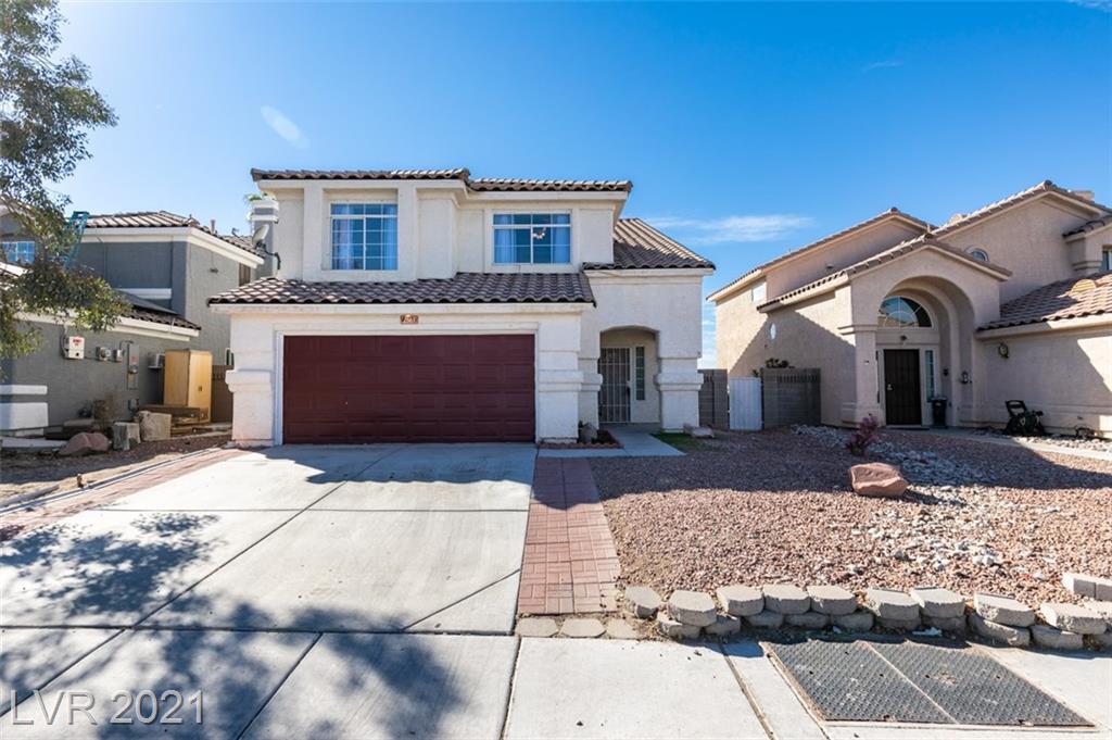 2863 Deep Creek Lane Property Photo - Las Vegas, NV real estate listing