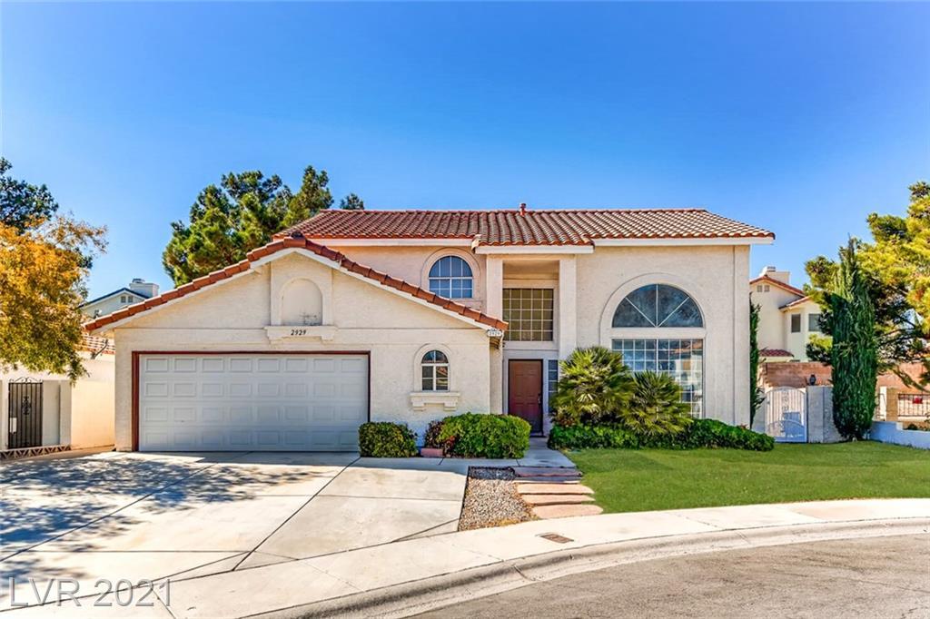 2929 Caressa Court Property Photo - Las Vegas, NV real estate listing