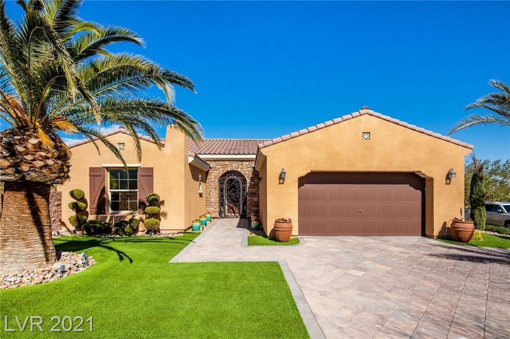 85 Contrada Fiore Drive Property Photo - Henderson, NV real estate listing