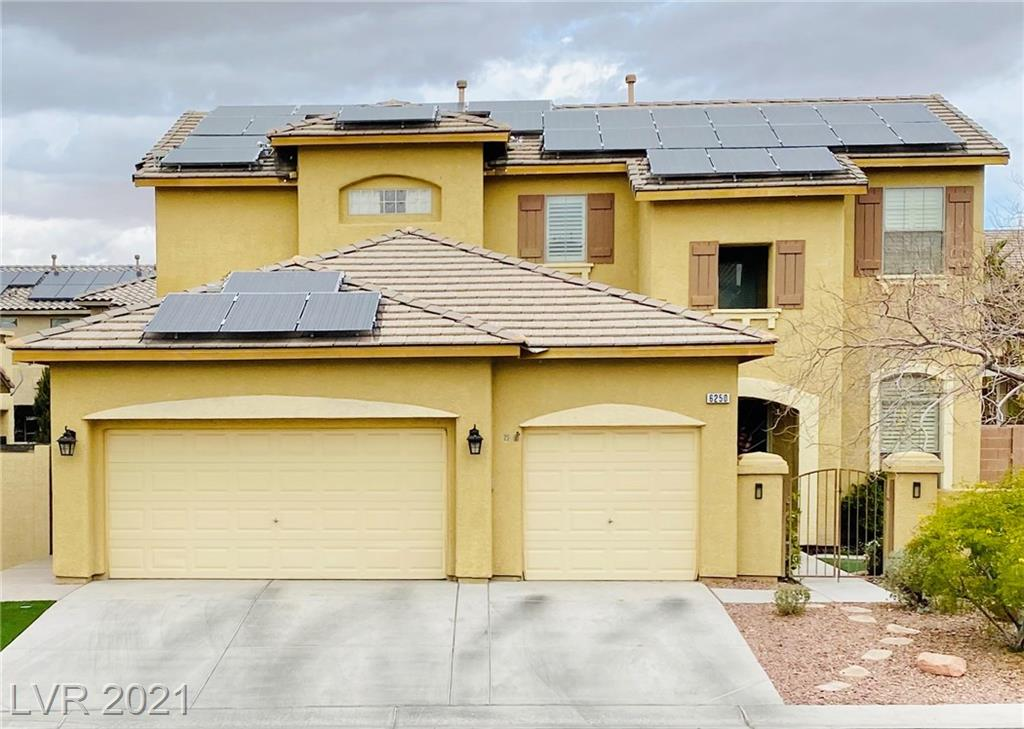 Mesosphere Court Property Photo - Las Vegas, NV real estate listing