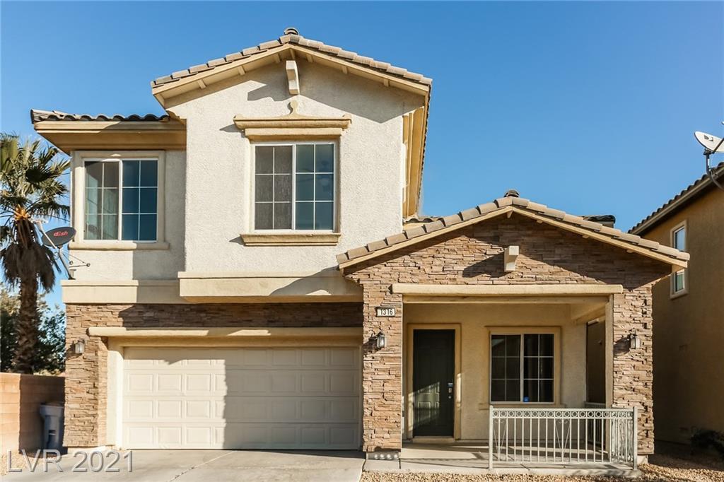 1316 Rainy Sky Avenue Property Photo - North Las Vegas, NV real estate listing