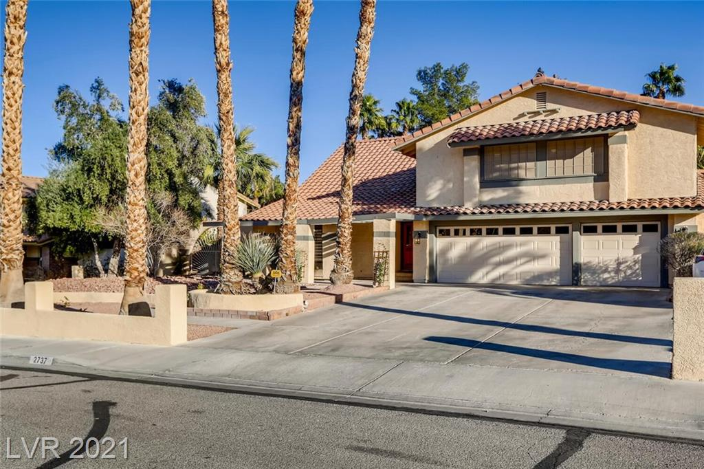 2737 Brockington Drive Property Photo - Las Vegas, NV real estate listing
