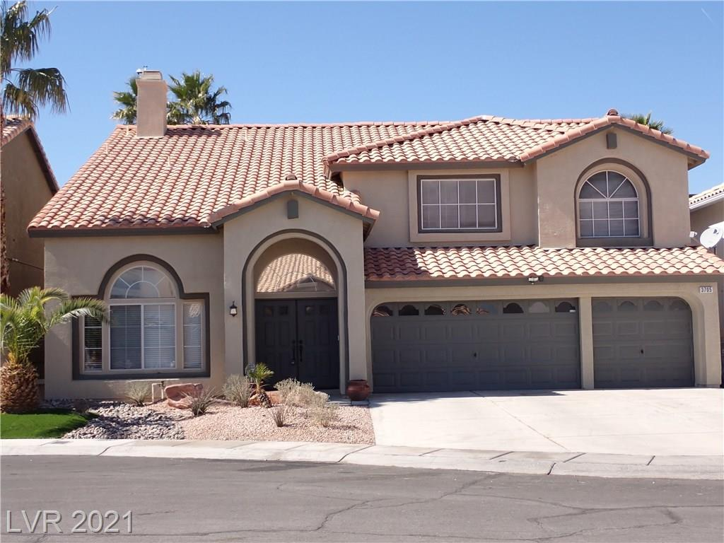 3705 Treasure Bluff Court Property Photo - Las Vegas, NV real estate listing