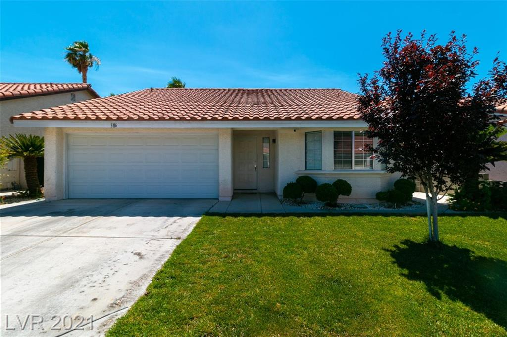 3116 Mediterranean Drive Property Photo - Las Vegas, NV real estate listing