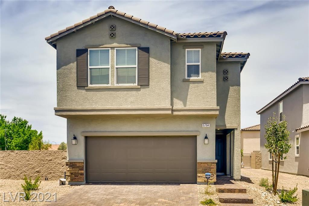 5794 Blue Serenity Property Photo - Las Vegas, NV real estate listing