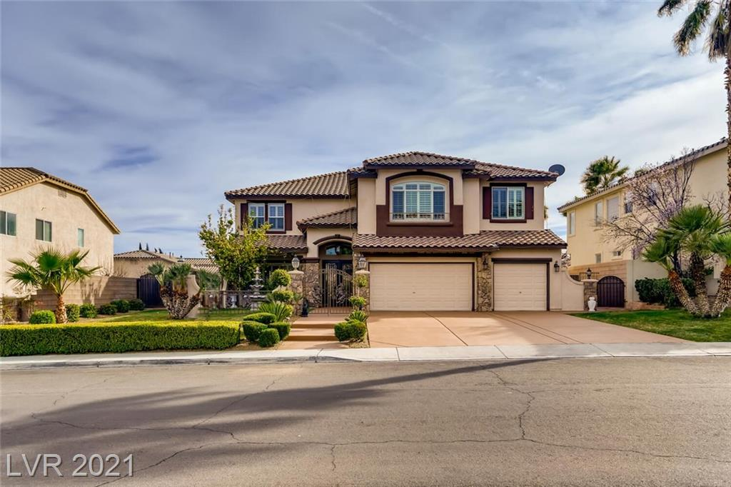 7961 Mosaic Harbor Avenue Property Photo - Las Vegas, NV real estate listing