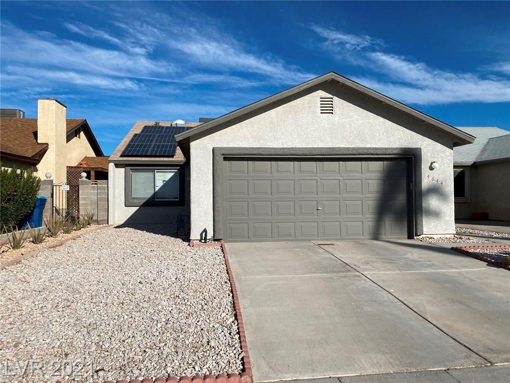 4644 BUMBLEBEE Circle Property Photo - Las Vegas, NV real estate listing