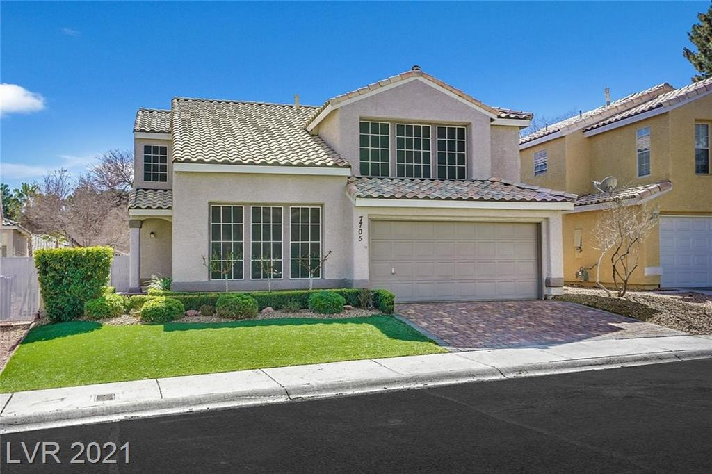 7705 Sea Wind Drive Property Photo - Las Vegas, NV real estate listing