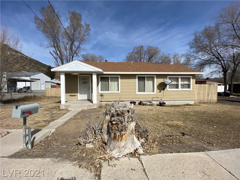 1830 North Street Property Photo - Ely, NV real estate listing