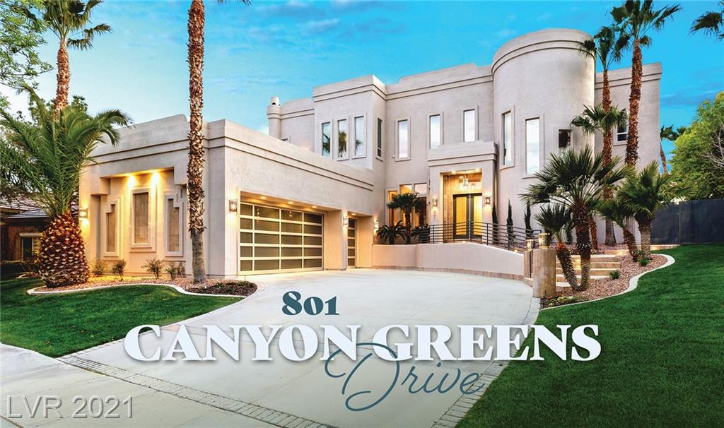 801 Canyon Greens Drive Property Photo