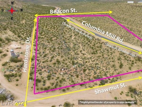 0 Beacon Street Property Photo - Goodsprings, NV real estate listing