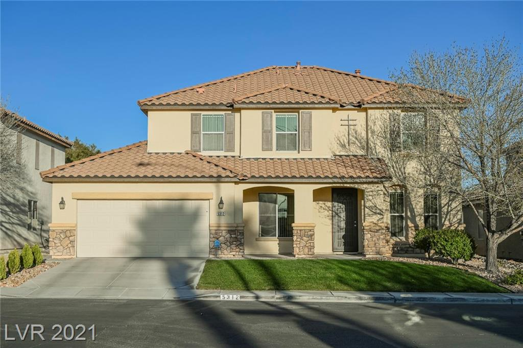 5312 Summer Trout Street Property Photo - North Las Vegas, NV real estate listing