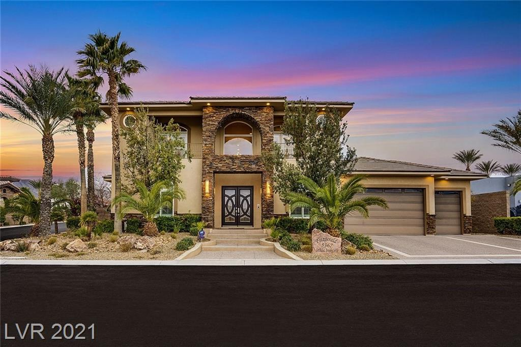 5367 Secluded Brook Court Property Photo - Las Vegas, NV real estate listing
