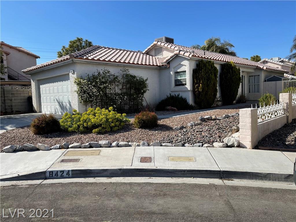 Granite Peak Court Property Photo - Las Vegas, NV real estate listing