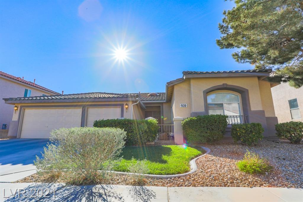 Carey Hall Street Property Photo - Las Vegas, NV real estate listing