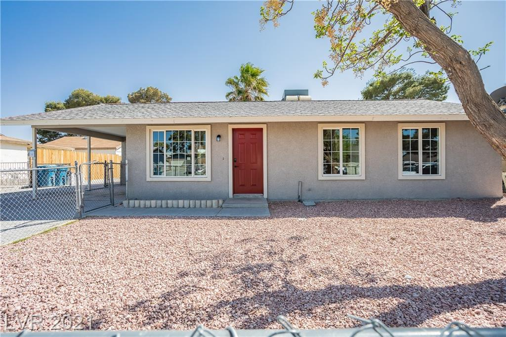 Hot Springs Avenue Property Photo - Las Vegas, NV real estate listing