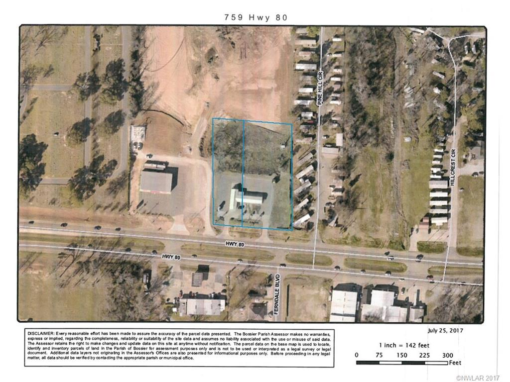 759 Highway 80 Property Photo - Haughton, LA real estate listing