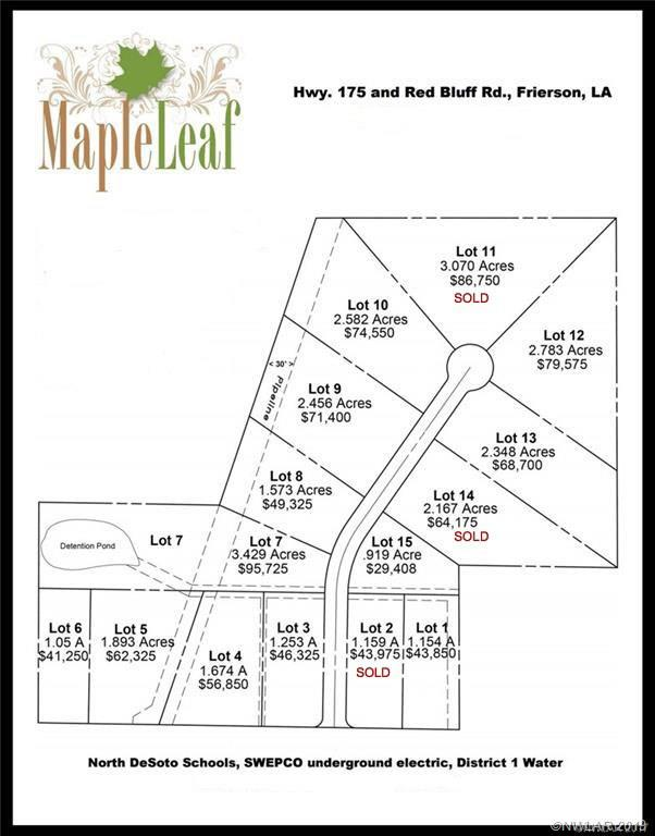 0 Sweet Life Drive #13 Property Photo - Frierson, LA real estate listing