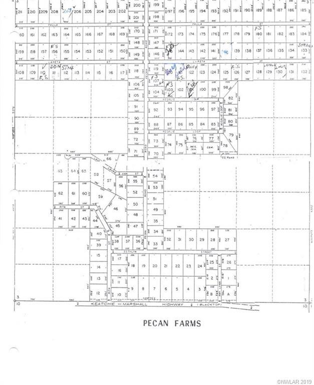 0 Pecan #107 Property Photo - Keithville, LA real estate listing