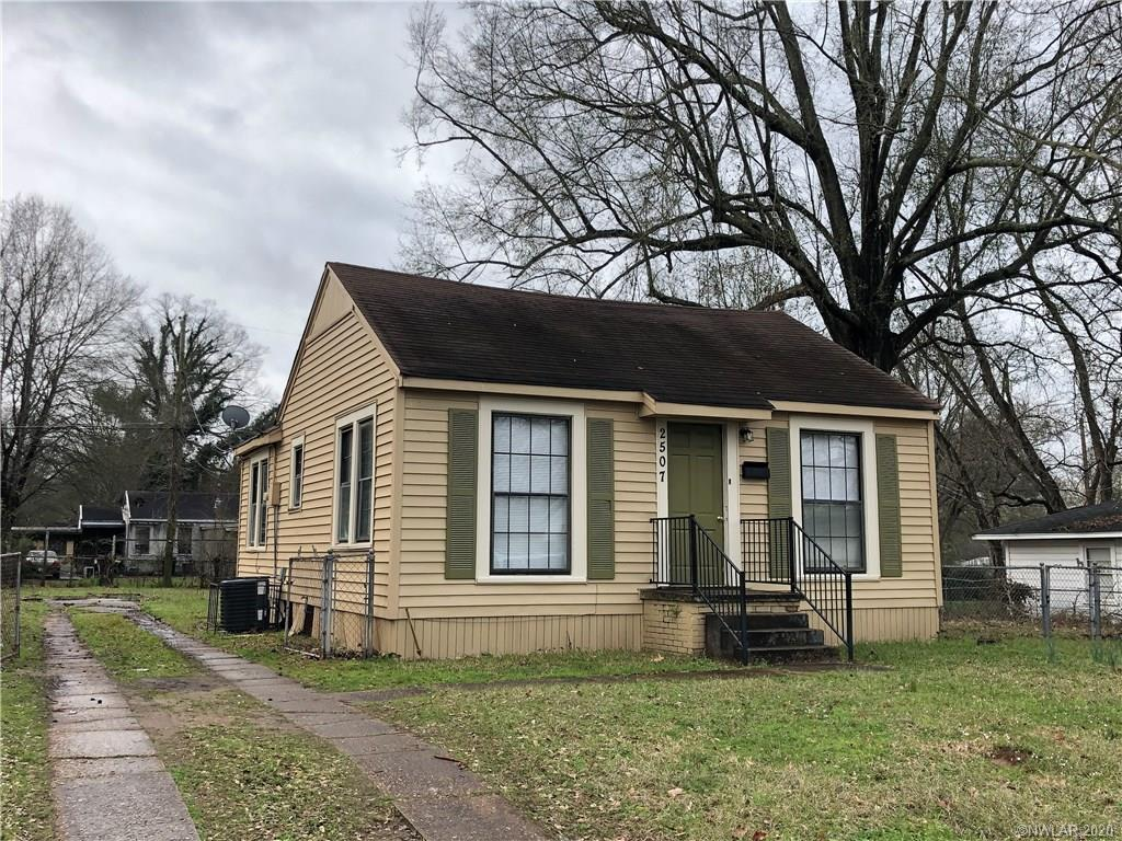 2507 Devaughn Street Property Photo - Shreveport, LA real estate listing
