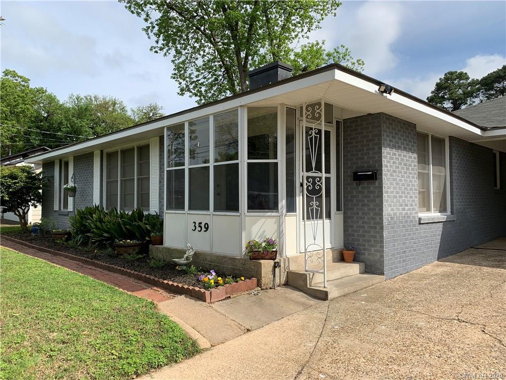 359 Sandefur Drive Property Photo - Shreveport, LA real estate listing