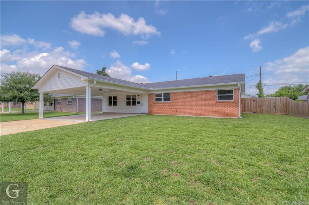 3013 Oliver Street Property Photo - Bossier City, LA real estate listing