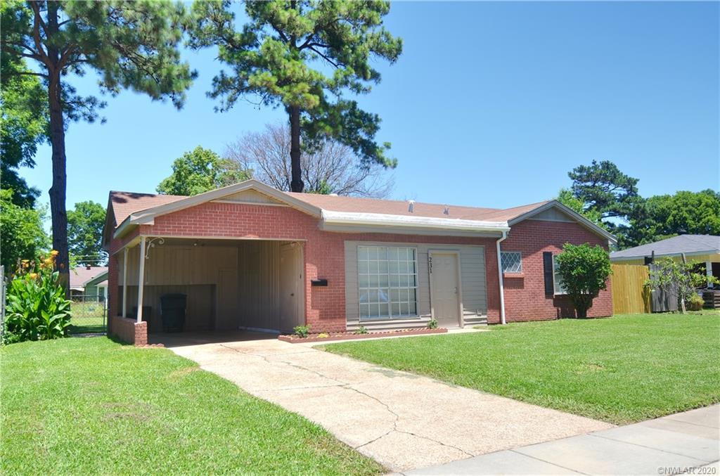 231 Lincoln Drive Property Photo - Bossier City, LA real estate listing