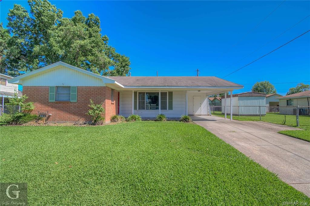 1416 Holiday Place Property Photo - Bossier City, LA real estate listing