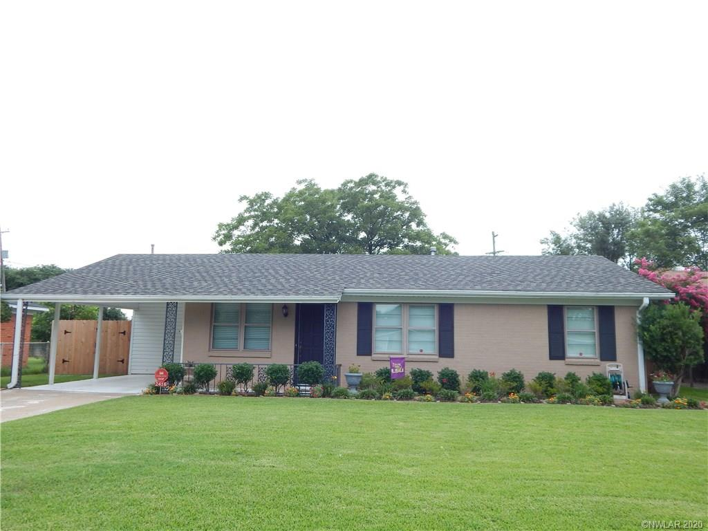 2416 Belle Grove Drive Property Photo - Bossier City, LA real estate listing