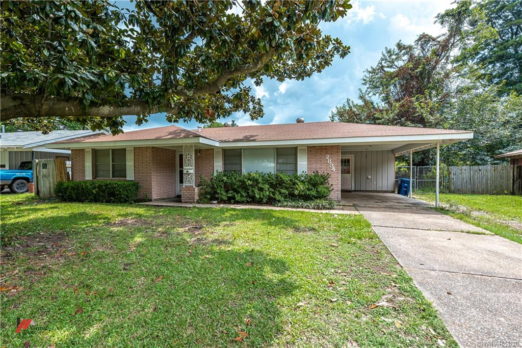 2834 W Cavett Drive Property Photo - Shreveport, LA real estate listing