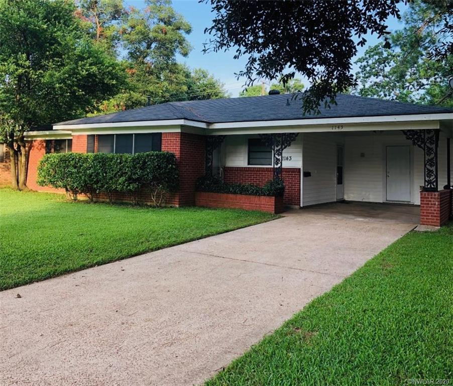1143 Georgia Street Property Photo - Shreveport, LA real estate listing