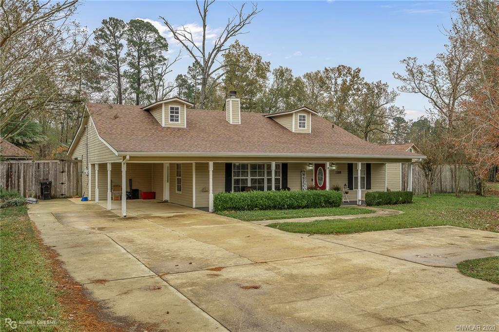 1509 Bellevue Road Property Photo - Haughton, LA real estate listing