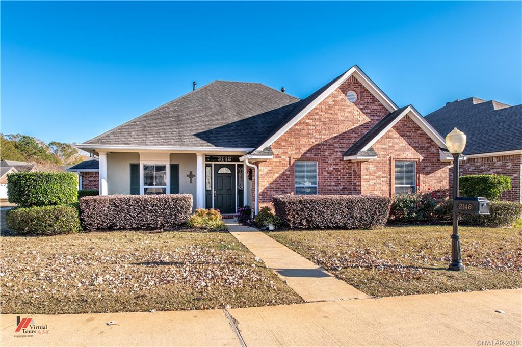 2148 Burgundy Ridge Drive Property Photo - Shreveport, LA real estate listing