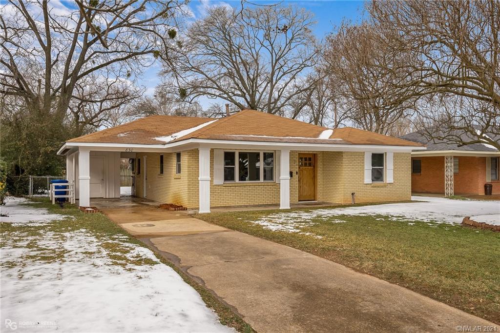 830 Kimbrough Street Property Photo - Shreveport, LA real estate listing
