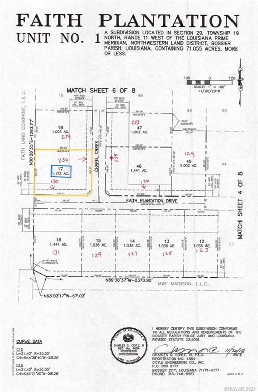 0 Faith Plantation #17 Property Photo - Princeton, LA real estate listing