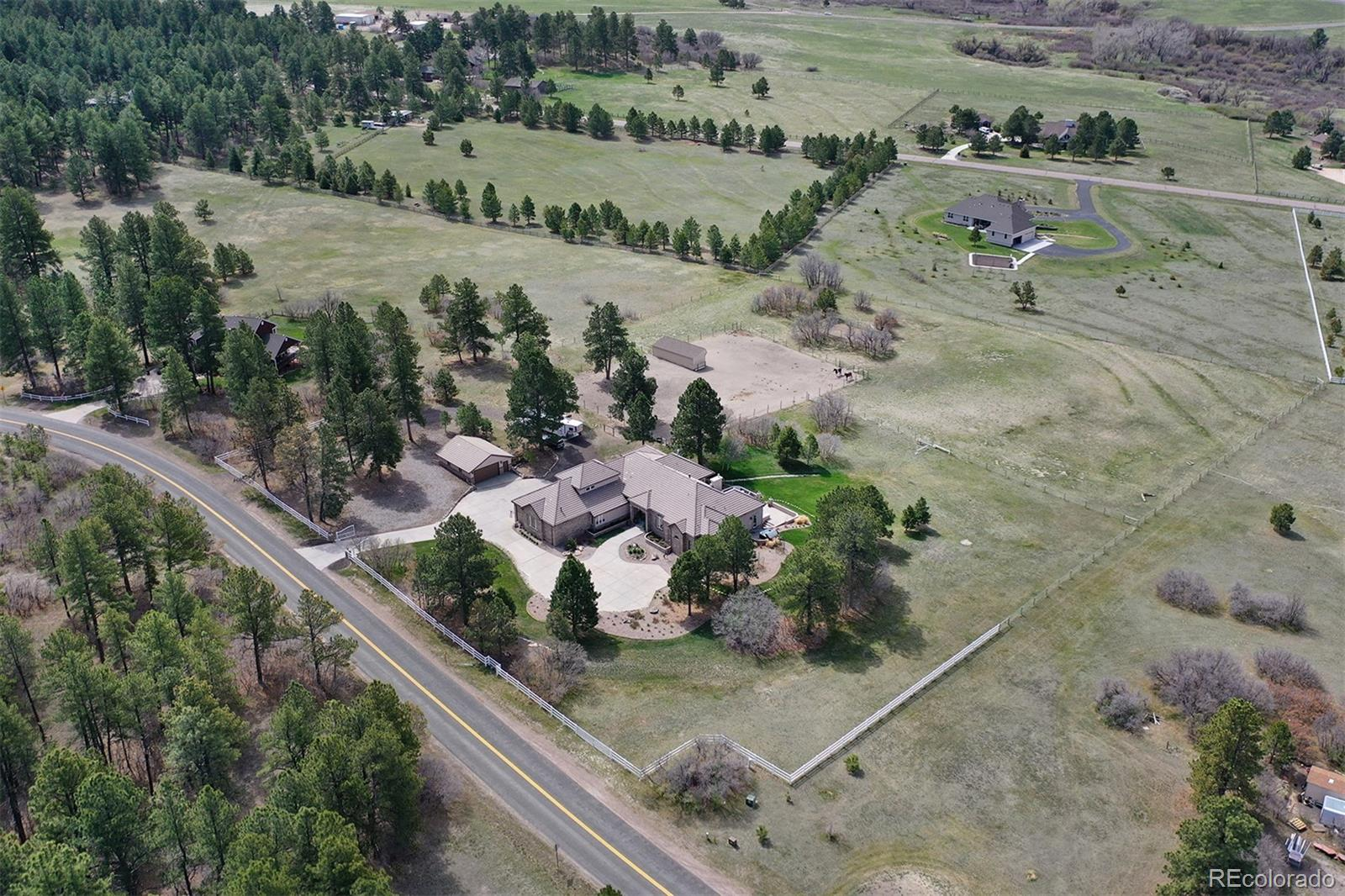 9948 Pine Valley Drive Property Photo - Franktown, CO real estate listing