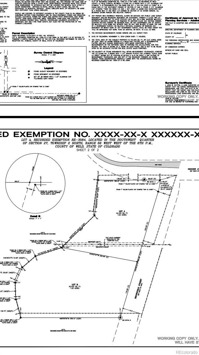 N/A Higgins Property Photo - Fort Lupton, CO real estate listing