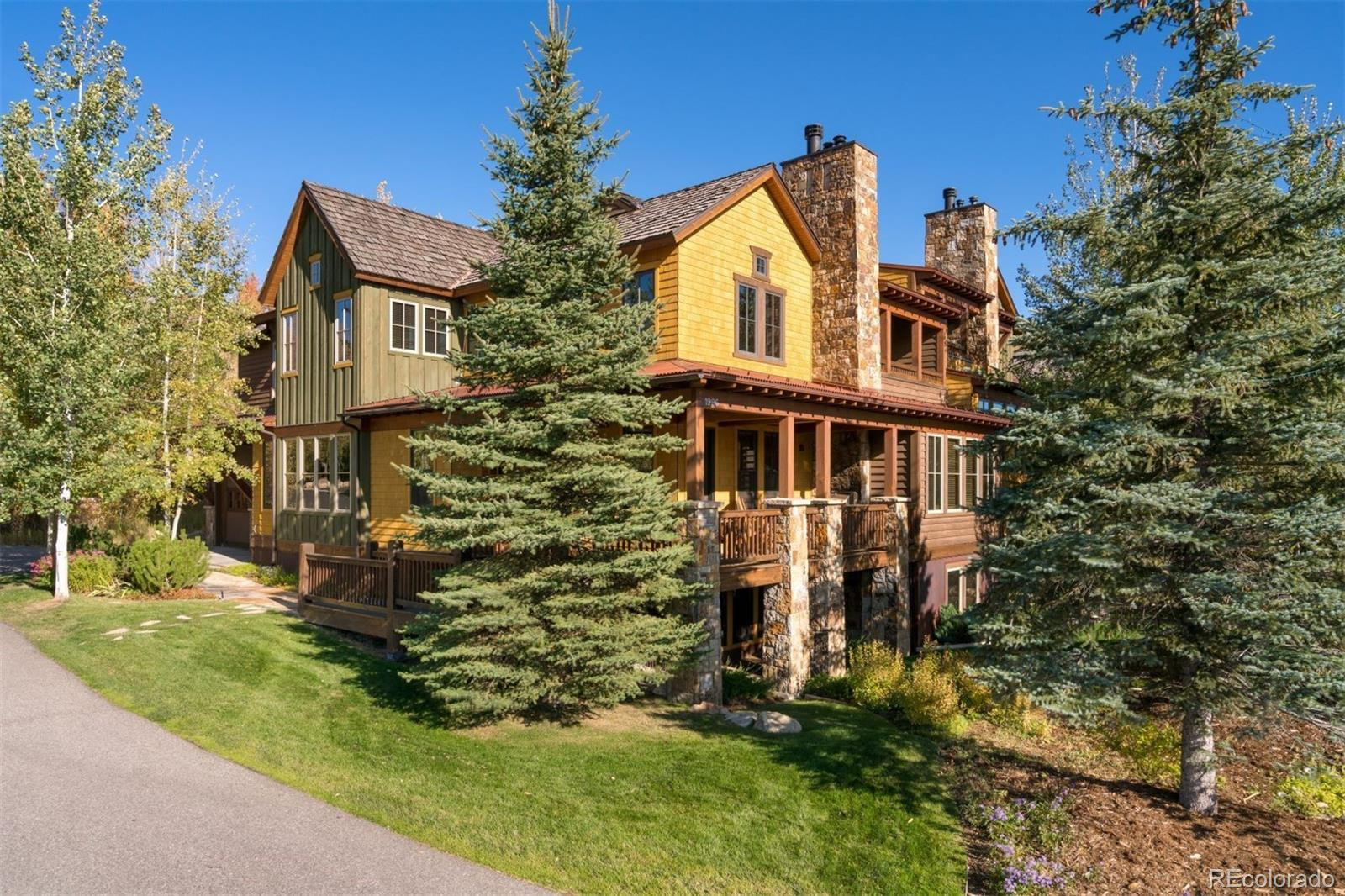 1996 Indian Summer Drive #Ponderosa floor plan Property Photo - Steamboat Springs, CO real estate listing