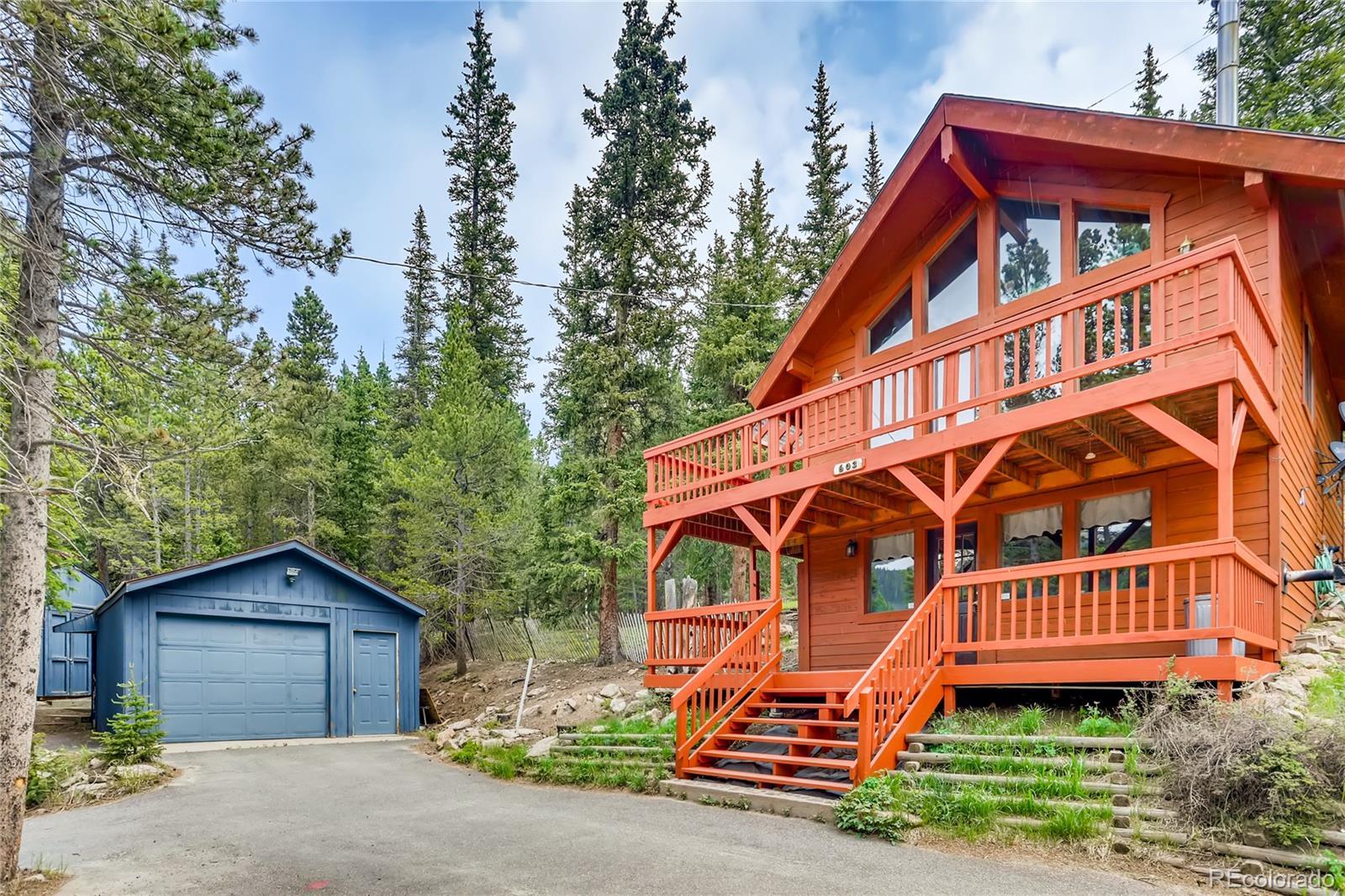 603 Lake Road Property Photo - Idaho Springs, CO real estate listing