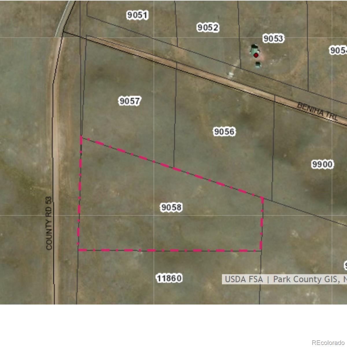 County Road 53 Property Photo - Hartsel, CO real estate listing
