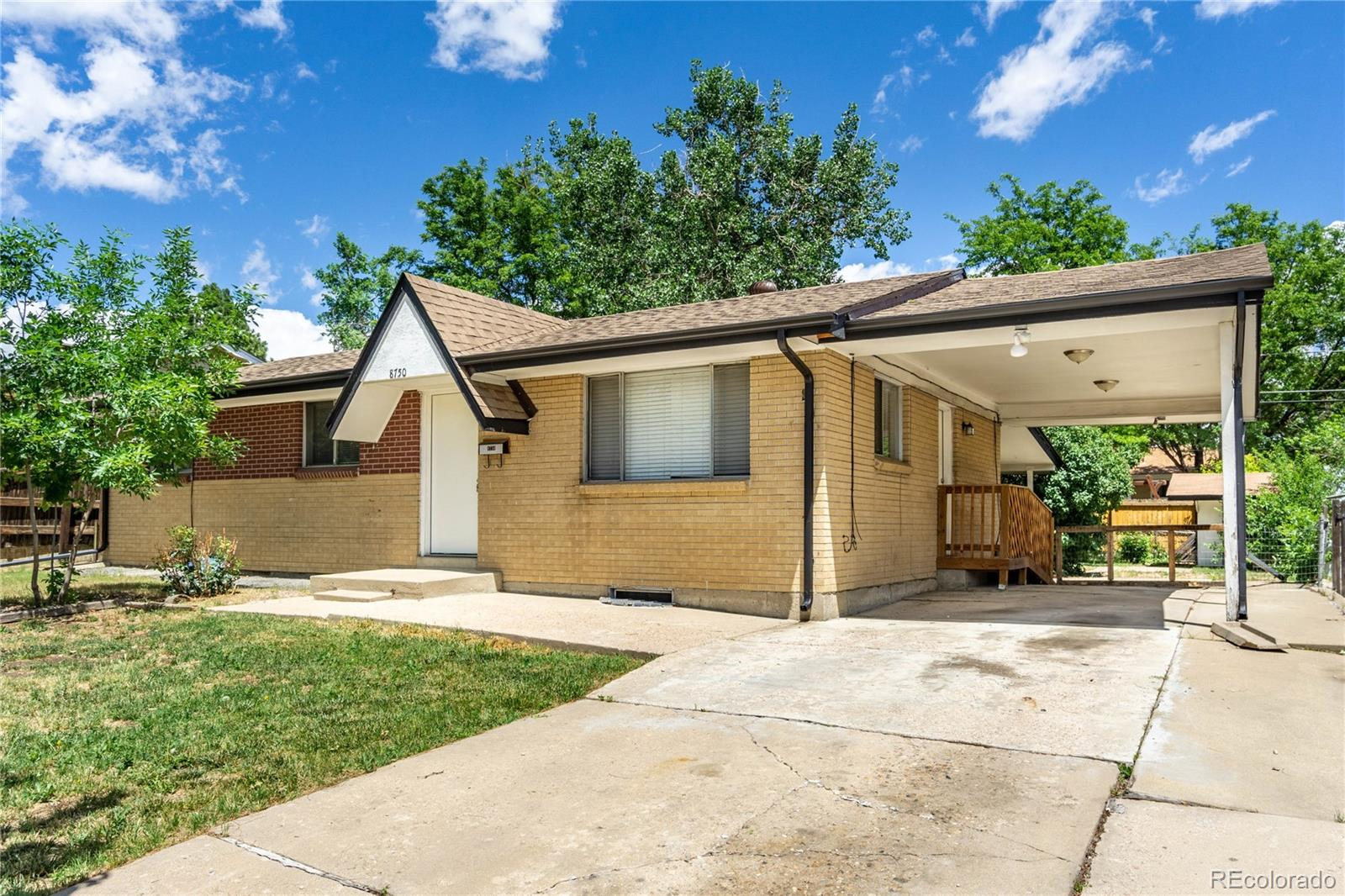 8750 Oakwood Street Property Photo - Westminster, CO real estate listing