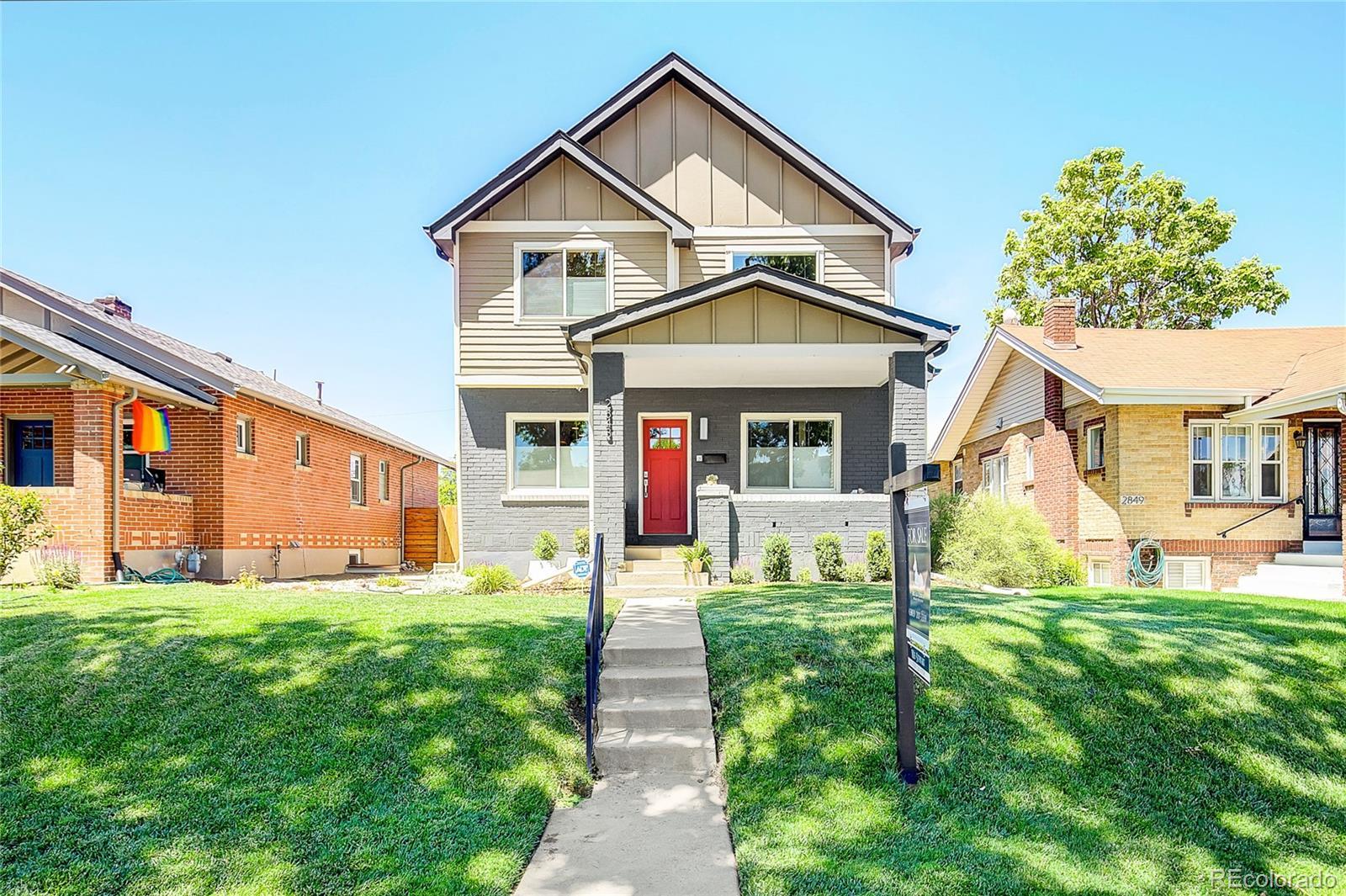 2843 N Milwaukee Street Property Photo - Denver, CO real estate listing
