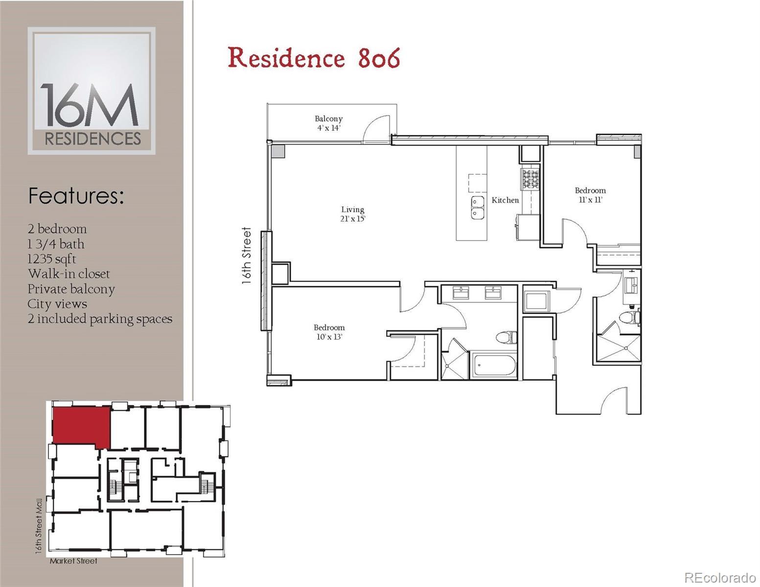 1560 Market Street #806 Property Photo - Denver, CO real estate listing