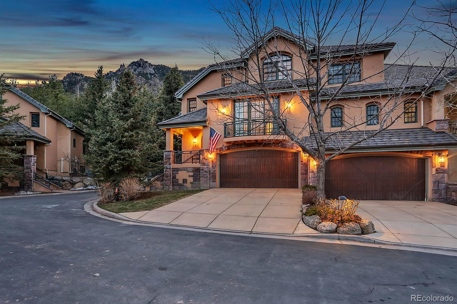 1285 Log Hollow Point Property Photo - Colorado Springs, CO real estate listing