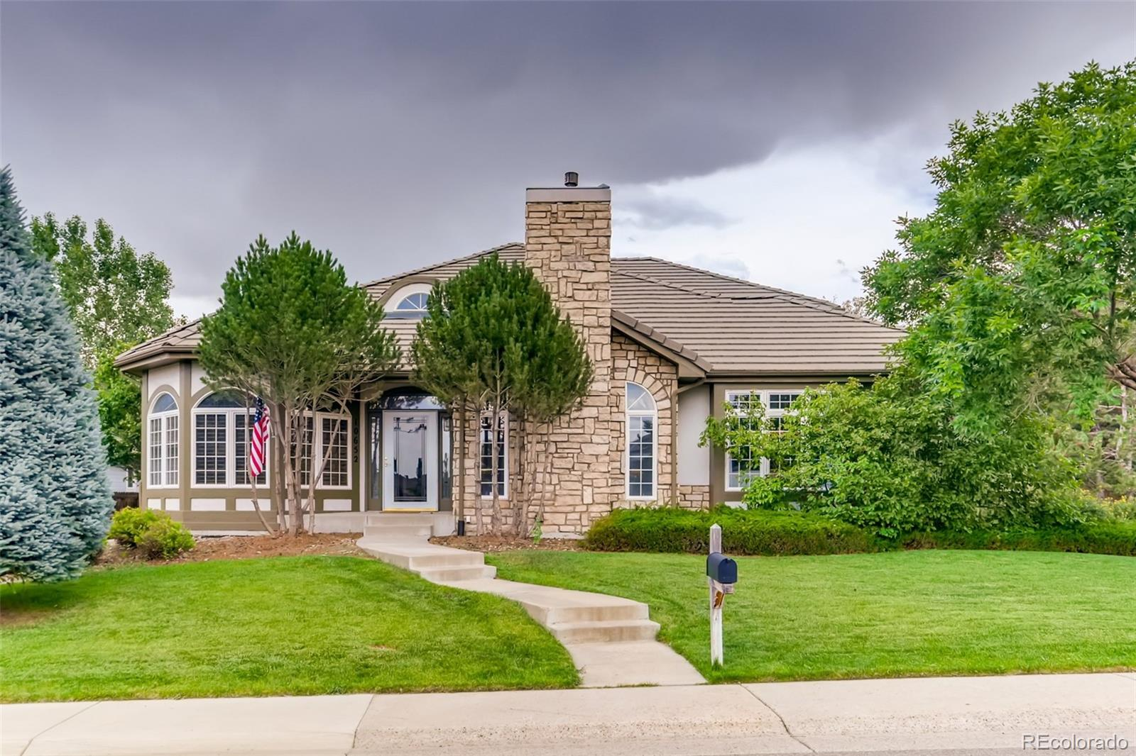 10652 Clarke Farms Drive Property Photo - Parker, CO real estate listing